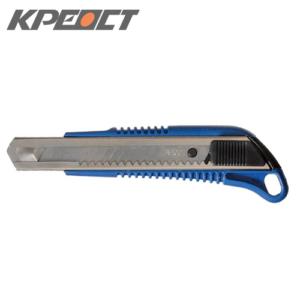 Нож (выдвижное лезвие) синий 18mm