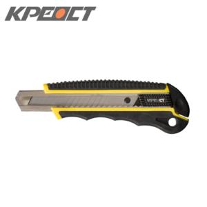 Нож (выдвижное лезвие) черный 18mm
