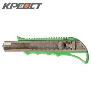 Нож (выдвижное лезвие) зелёный 18mm